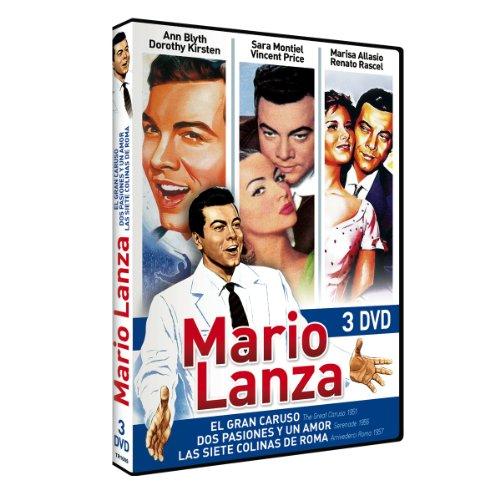 Mario Lanza: El Gran Caruso / Dos pasiones y un amor / Las Siete Colinas de Roma [3 DVDs] [Spanien Import]