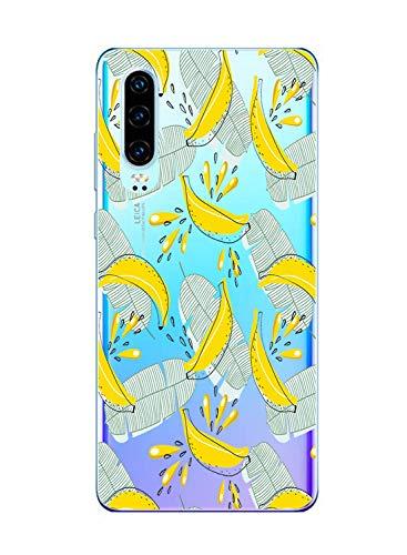 Suhctup Funda Compatible con LG Q60,Carcasa Transparent Silicona TPU Gel Dibujos Animados Ultra Fina Antigolpes Protector Piel Estuche Bumper Case para LG Q60(11)