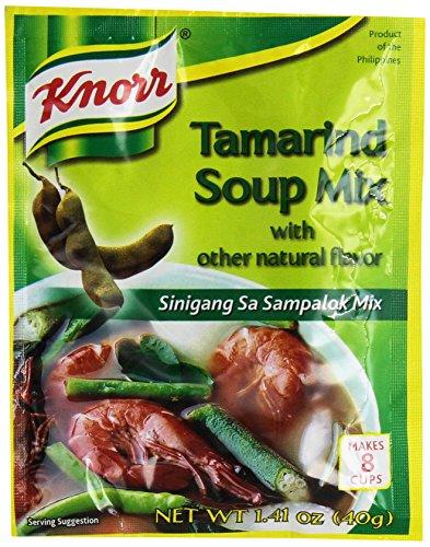 Knorr Tamarind Soup Mix (Sinigang sa Sampalok Mix), 1.41oz (40g), 14-pack