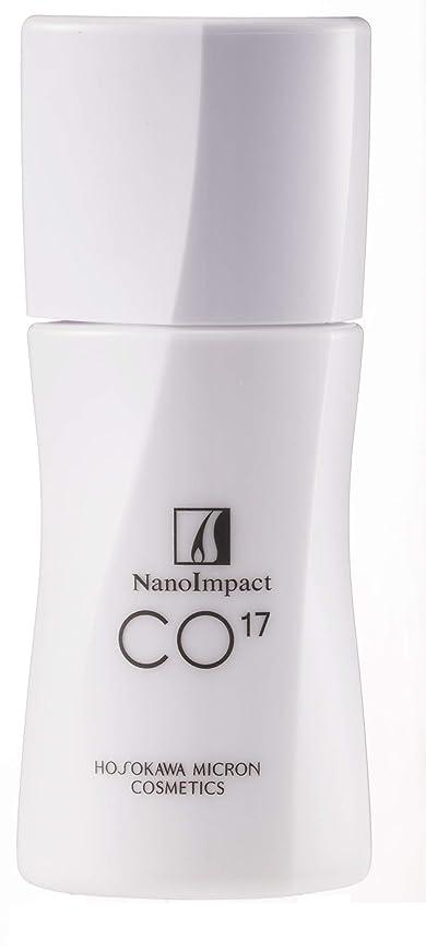 腹身元の前でホソカワミクロン化粧品 薬用ナノインパクト Co17 <60ml> 【医薬部外品/薬用育毛剤】