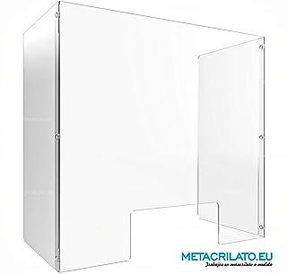 SHIELD - Mampara protectora de metacrilato para mostradores y barras: Amazon.es: Oficina y papelería
