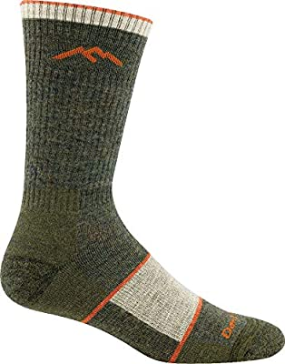 Darn Tough Hiker Boot Sock Full Cushion Men's - Olive Large