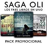 PACK PROMO Saga Oli: El secreto de Oli + El aleteo de la mariposa + Veintre veintitrés