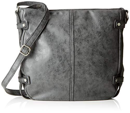 s.Oliver (Bags) Shoulder Bag - Borse a spalla Donna, Nero (Black), 7x31x29 cm (B x H T)