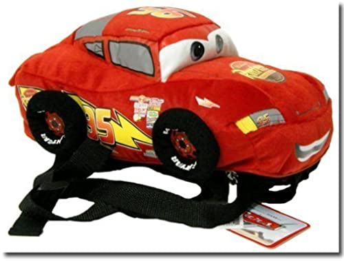 Approximate Größe  13W X 5H - Disney Cars   Lightning Mcqueen Toddler Plush Backpack by Disney