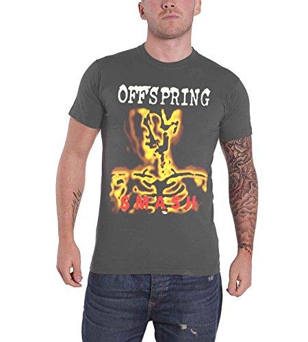 Offspring Smash 20 offiziell Herren Nue Grau T Shirt