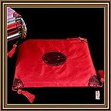 Cojín de silla Cojines para sillas Cojines de asiento cómodos Cuatro esquinas Sofá Oreja Roja Un juego de 4 almohadas para cocina Comedor Jardín Silla de oficina Cojín de asiento de cojín Cojín de sil