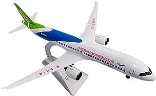 Baoblaze 1: 120 Juguete de Vehículos de Simulación Modelo de Aviones Comerciales Realista Juego de Diversión para Niños