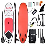DAMA Inflatable Stand up Paddle sup Board (10'), for Kids Teens and Women,fin,Carry...