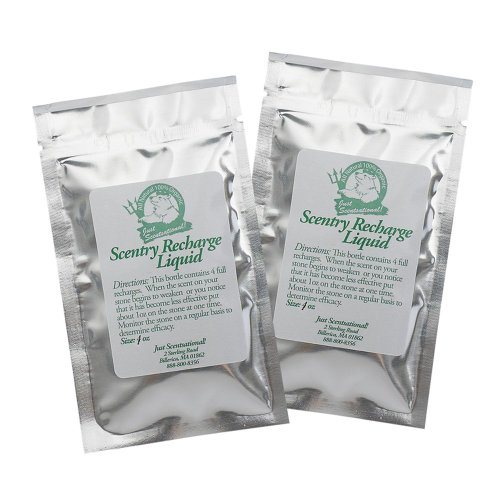 Just Scentsational RS-2 Recharge Scent (Coyote Urine) for PS-1 Pooh Stone Dog Training Device, Two 1-oz Foil Packets