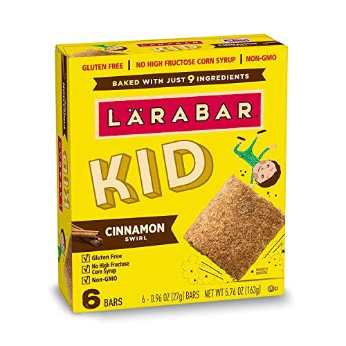 Larabar Kid Gluten Free Bar, Cinnamon Swirl, 6 ct, 5.76 oz