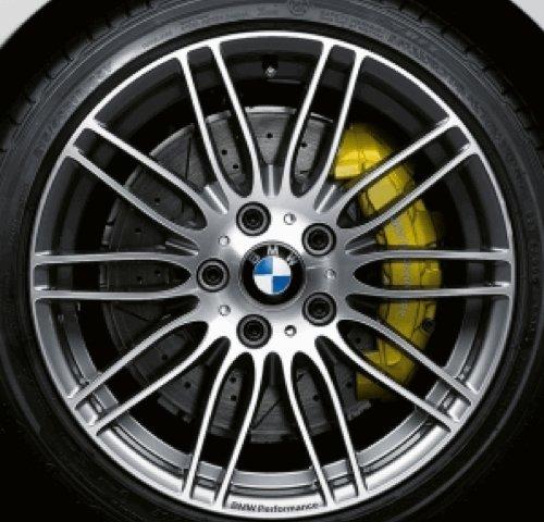 Original BMW Alufelge 3er E90 E91 E92 E93 Performance Doppelspeiche 269 in 19 Zoll für hinten