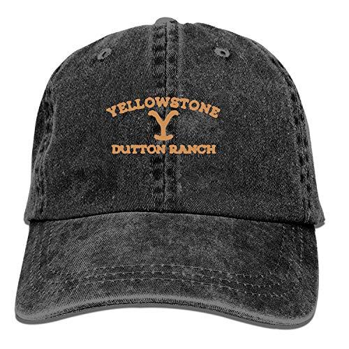 Yellowstone Dutton Ranch - Cappellino da golf, regolabile, da uomo