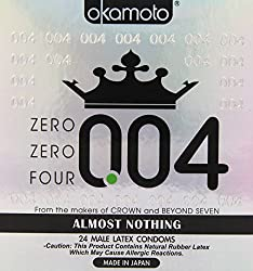 in budget affordable Okamoto 0.04mm Rockman Zero 4 Condom 24 Pack