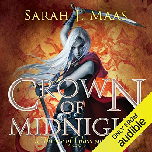 Crown of Midnight: A Throne of Glass Novel, sarah j maas, how to read more, audiobooks, audible, manga, reading, books, read more, audiobook recommendations, good audiobooks,