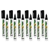 Artline Garden Markers, 0.8 mm Writing Width, Black, 12 Pack (EK-780)