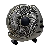 Soleus FT-25-A Table or Wall Fan, 10'