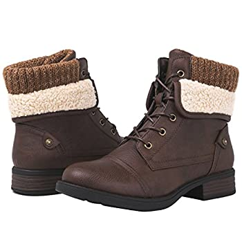 GLOBALWIN 1815 Women s Ankle Fashion Boots  9 M US Women s 1815 Brown