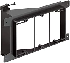 Arlington LVS3 Triple Gang Screw-on Low Voltage Bracket for New Construction
