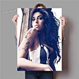 Beauty Woman Music Singer Star_5D DIY New Paint by Numbers for Adults Children_Preprint Canvas_Stress Less Number Painting Gifts_40X50cm