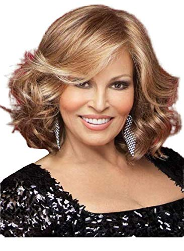 CELEBRITY Synthetic Lace Front Mono-Top wig 5PC Bundle: Wig by Raquel Welch, 4oz Mara Ray Luxury Shampoo and Conditioner, 2-Wig Caps,19 Page Belle of Hope Guide (R3025S+)