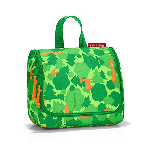 reisenthel toiletbag S kids greenwood Maße: 18,5 x 16 x 7 cm / Volumen: 1,5 l