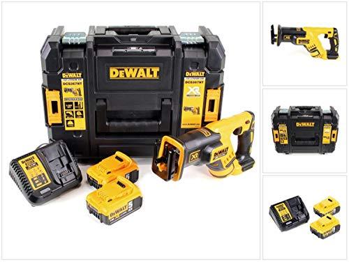Preisvergleich Produktbild DeWalt DCS 367 P2 Akku Reciprosäge Säbelsäge 18V Brushless + 2x Akku 5, 0Ah + Ladegerät + TSTAK