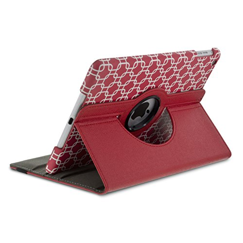 Aduro ROTATA 360 Degrees Rotating Case Cover Folio w/Stand for Apple iPad 2/3 / 4 Generation (Links)