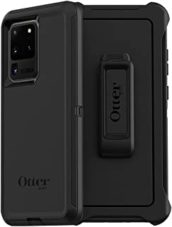 Otterbox 77-64212 Defender Series Screenless Edition Case for Galaxy S20 Ultra/Galaxy S20 Ultra 5G - Black