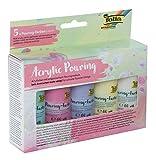 Pouring - Juego de 5 colores pastel, compuesto por 5 colores pastel de 60 ml, con base mezclada.