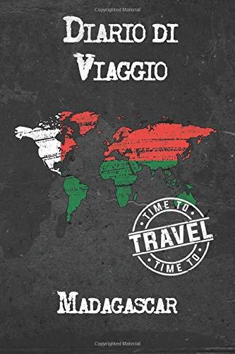 Diario di Viaggio Madagascar: 6x9 Diario di viaggio I Taccuino con liste di controllo da compilare I Un regalo perfetto per il tuo viaggio in Madagascar e per ogni viaggiatore