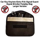 FFS, bustina per chiavi auto, chiave elettronica sistema keyless, bustina con schermatura segnali Faraday, misura L