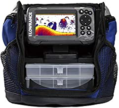 Lowrance HOOK² Ice Fishing and All-Season Pack with HOOK² 4X Fish Finder, Two Transducers, Battery, Charger and Carry Case