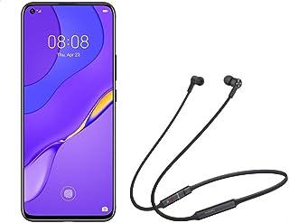 Huawei Nova 7 Dual SIM Mobile Phone, Quad Camera, 6.53 Inches Touch Screen, 8 GB RAM, 256 GB Storage, 5G - Space Silver wi...