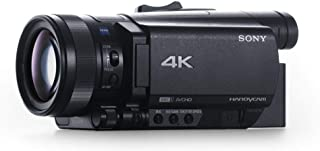 كاميرا تصوير بدقة 4 كيه من سوني، لون اسود - FDR-AX700