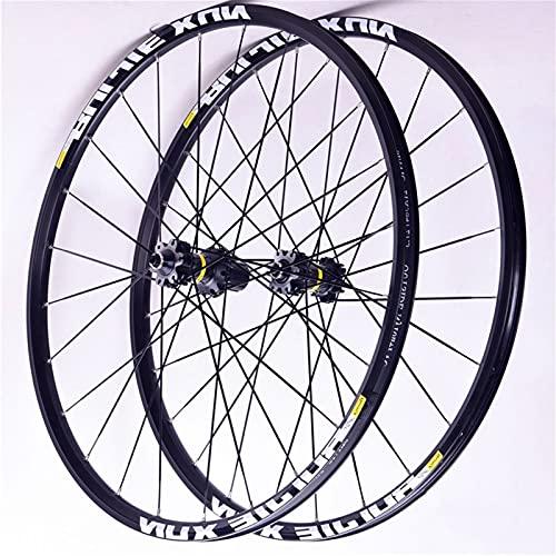 Cerchio bici 26 '' 27.5 '' 29 '' Mountain Mountain Bike Wheels Wheelset in fibra di carbonio QR. Front 2 posteriore 4 PEILIN HUBE DOUBLE WALL LOY RIM 8-9-10-11 VELOCE Accessorio per bicicletta per ass