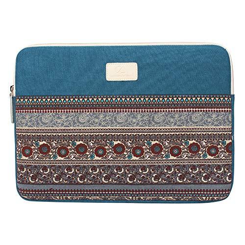 Fablcrew Notebook Hülle Sleeve Tasche mit Griffen/Zubehörtasche für Laptop/Ultrabook/Notebook/Netbook/MacBook Size 11 Zoll