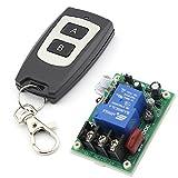 RF de la CA 220 V 30 1 11 canal un repetidor inalámbrico interruptor de Control remoto de aprendizaje tipo negro con transmisor