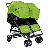 The Twin+ (Zoe XL2) - Best Double Stroller - Everyday Twin Stroller with Umbrella…