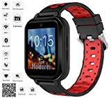 Finow Q1 Pro Android Smart Watch 4G 1.54 Inch Touch Screen Pedometer Red