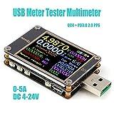USB Tester Meter Voltmeter USB Multimeter Spannung Strom USB Spannungsprüfer Amperemeter Messgerät...