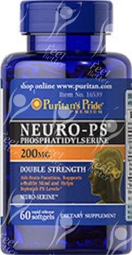 Puritan's Pride, Neuro-PS, Fosfatidilserina 200mg x60caps