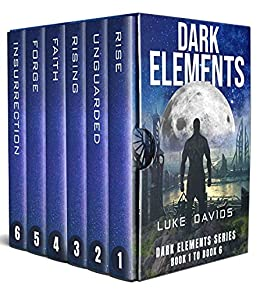 Dark Elements Box Set : Full Series (Books 1 - 6) A Sci-Fi Dystopian Techno Thriller Series by [Luke Davids]