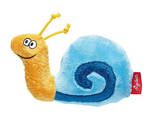 Best Buy! sigikid PlayQ Rattle Snail blue