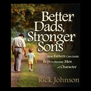 Better Dads, Stronger Sons audiobook cover art