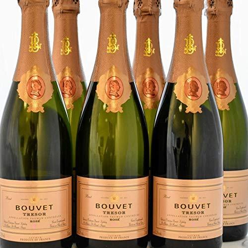 Bouvet - Trésor Rosé 6er-Sparpaket Saumur Brut