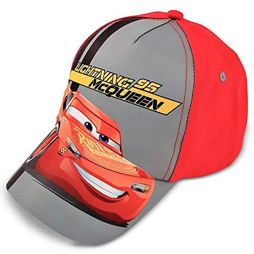 Frozen - Gorra de béisbol para niños de 4 a 7 años, Gorra de béisbol para niños de Mickey Mouse para niños, Gris / Rojo