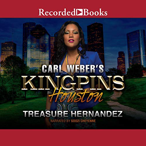 Carl Weber's Kingpins: Houston audiobook cover art