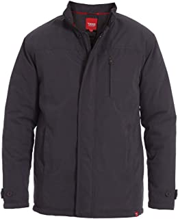 D555 Mens Big King Size Jacket Ashland in Slate Colour 1XL to 4XL
