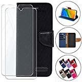 HYMY Bookstyle Flip Phone Case Cover Shell for Cubot Max 2